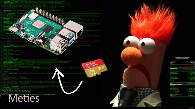 آموزش نصب سیستم عامل روی بردهای لینوکسی (Raspberri Pi,Orange Pi , … )
